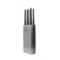 CT-1066 EUR Plus 7W 6 Antennas GSM 2G 3G 4G LTE 4G Low WIFI 2.4GHz Jammer up to 30m