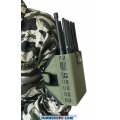 CT-1010-5Ghz 10 Antennas 10W 3G 4G GPS L1 L2 Lojack WIFI Jammer up to 30m