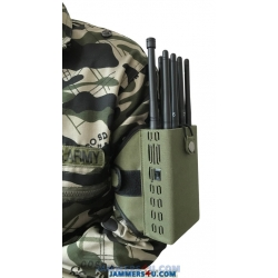 CT-1088 A Plus 8 Antennas 8W CDMA 2G 3G 4G WiMax GPS L1 L2 Lojack RC315 433 868Mhz 2.4GHz Jammer up to 30m