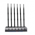 CT-2060H 6 Antenna Medium Power 56W 3G 4G WIFI Jammer up to 80m