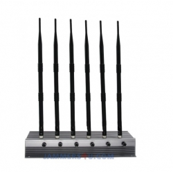 CT-2065H UAV Drone Quadcopter 35W 6 Antenna Jammer up to 300m
