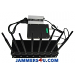 8 Band 22W Jammer 3G 4G WIFI UHF VHF RC GPS up to 50m