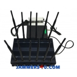12 Antenna-5Ghz 28W Jammer 3G 4G GPS UHF VHF WIFI 5Ghz up to 50m
