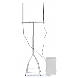 2.4Ghz 5Ghz 125W Outdoor Jammer up to 2500m