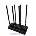 CT-3060N 6 Antennas High Power 135W 3G 4G WiFi Jammer up to 150m