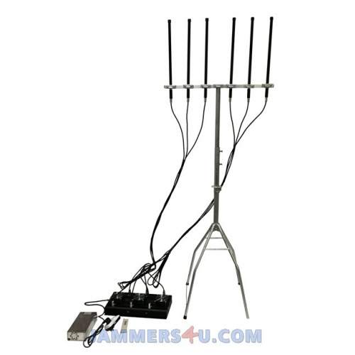 Ct 3060n Uav Anti Drone 6 Bands 433mhz 900mhz 2 4ghz 5