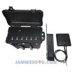 Drone UAV 132-140W Portable RC Jammer up to 1500m