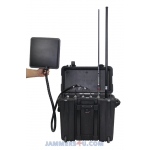 CT-3076B15W-UAV Anti-Drone High Power 142W Jammer 6 Bands up to 1500m