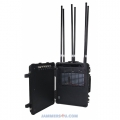 CT-3088B 205W Portable built-in battery Mobile Phone 8 Bands Pelican Jammer up to 150m