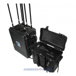 Drone UAV RC Jammer 525W 6 bands up to 8km