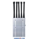 CT-1010-5Ghz 10 Bands 10W 5Ghz 3G 4G GPS RC 433 868 WIFI Jammer up to 30m