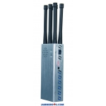 6 Antennas 7.0W Jammer 3G 4G WIFI up to 30m