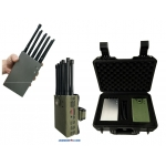 10 Antenna 5G 5Ghz 4G 3G 2.4Ghz WiFI GPS 10W Jammer up to 30m