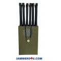 12 Antenna 12W 5G 3G 4G WIFI 2.4Ghz 5Ghz GPS RC Jammer up to 30m