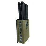 12 Antenna 5G 12W Jammer 3G 4G LTE GPS RC WIFI up to 30m