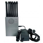 CT-1012-5Ghz 12 Bands 12W 5Ghz 3G 4G GPS RC Lojack WIFI Jammer up to 30m