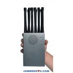 CT-1012 Plus Handheld 12 Antenna 12W 3G 4G GPS RC Lojack WIFI Jammer up to 30m