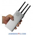 3 Antenna 10W Handheld Jammer RC 315Mhz 433Mhz 868Mhz up to 100m