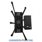 CT-3080N A 170W 8 Antenna GSM 3G 4G 2.4Ghz UHF VHF RC GPS Jammer up to 150m
