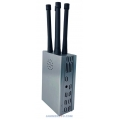 CT-1040H-GPS L1-5 Glonass Lojack BeiDou Galileo Handheld Portable Jammer up to 600m