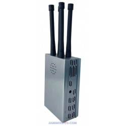 CT-1040H-RC Handheld High Power 30W RC315 433 868Mhz Jammer up to 500m