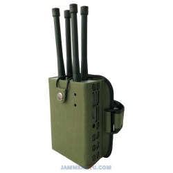 Handheld Portable RC Drone UAV Jammer 28W up to 500m