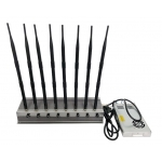 8 Antenna-5Ghz 60W Jammer 3G 4G WiFI 5Ghz up to 80m