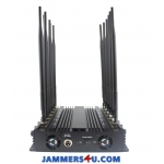 CT-2095 A WIFI 5Ghz 2.4Ghz Cell Phone 3G 4G GPS L1 L2 VHF UHF 27W 12 Antenna Jammer up to 50m