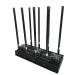 CT-3085N EUR High Power 139W 8 Antennas GSM 2G 3G 4G WiFi 2.4Ghz 5Ghz Jammer up to 150m
