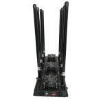 8 Antenna-5Ghz 185W Jammer 3G 4G WIFI GPS up to 150m