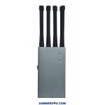8 Antenna 8.0W Jammer 3G 4G GPS RC WIFI up to 30m