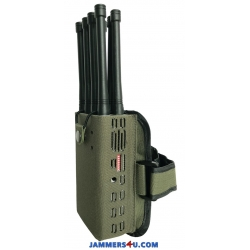 CT-1088 A Plus 8 Bands 8W CDMA 3G 4G GPS RC315 433 868Mhz WIFI Jammer up to 30m
