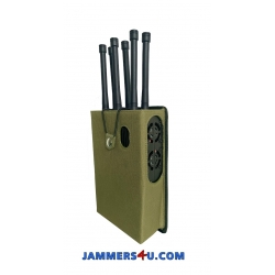 All-Remote Controls high power 30-45W handheld Jammer 6 Antennas up to 600m