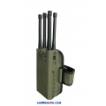 6 Antennas 7W Jammer 3G 4G WIFI up to 30m
