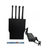 8 Antenna UAV Drone RC WiFi 5.8Ghz GPS 59W Jammer up to 600m