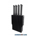✅ Heracles 8 Antenna 70W 5G 4G LTE 3G WIFI GPS L1 Jammer up to 60m