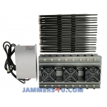 16 Antenna 120W Jammer 3G 4G WiFi 5Ghz RC GPS up to 80m