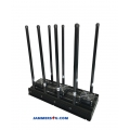 Powerful 8 Antenna 5G 4G LTE 5Ghz 2.4Ghz 164-170W Jammer up to 150m