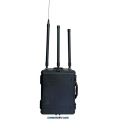 Portable Anti RC Bomb IEDs 1050W 12 Bands 20MHz to 6GHz Jammer up to 500m