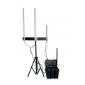 Portable Anti-Drone UAV Jammer 120W up to 2500m