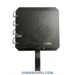 All GPS L1 2 3 4 5 Glonass BeiDou Directional Antenna Portable Jammer up to 1200m