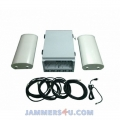 CT-5030 Prisons Jammers up to 6 bands 530W with wireless control system. Jamming up to 600m