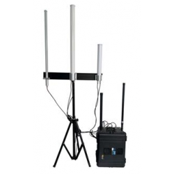 Anti-Drone UAV Portable Jammer 640W up to 6km