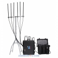 525W Powerful UAV Drone Jammer RC 2.4Ghz 5.8Ghz GPS L1 L2 433 900Mhz up to 8km