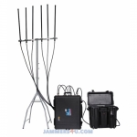 Drone UAV Jammer 525W 2.4Ghz 5.8Ghz GPS L1 L2 433 900Mhz up to 8km