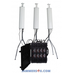Pro Drone Jammer 725W 2.4Ghz 5.8Ghz GPS L1-5 433 900Mhz up to 8km