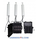 CT-8078AR Pro Drone UAV 8 bands High power 720W Jammer up to 8000m