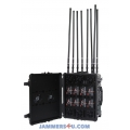 8 Band Antennas Most-powerful 800W Portable Jammer up to 1km