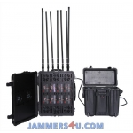 8 Band Antenna Portable 800W Portable Jammer up to 1km