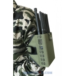 CT-1010 A 10 Antennas 10W GSM 2G 3G 4G GPS L1 L2 RC433 868 315Mhz WIFI Jammer up to 30m